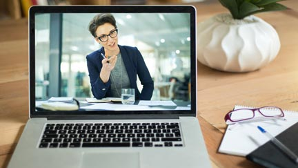 How engaging are your executives during video presentations?
